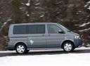 Фото авто Volkswagen Multivan T5 [рестайлинг], ракурс: 270 цвет: серый
