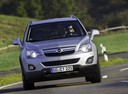 Фото авто Opel Antara 1 поколение [рестайлинг],  цвет: бежевый
