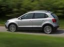 Фото авто Volkswagen Polo 5 поколение, ракурс: 90 цвет: бежевый