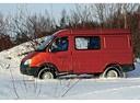 Фото авто ГАЗ Соболь Бизнес [2-й рестайлинг], ракурс: 90 цвет: оранжевый
