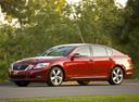 Фото авто Lexus GS 3 поколение [рестайлинг], ракурс: 45 цвет: бордовый