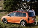 Фото авто Volkswagen Touran 1 поколение [рестайлинг], ракурс: 90