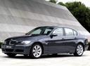 Фото авто BMW 3 серия E90/E91/E92/E93, ракурс: 45 цвет: фиолетовый