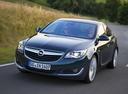 Фото авто Opel Insignia A [рестайлинг], ракурс: 45 цвет: зеленый