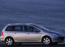 Фото авто Peugeot 307 1 поколение [рестайлинг], ракурс: 270 цвет: серебряный
