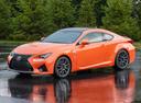 Фото авто Lexus RC 1 поколение, ракурс: 45 цвет: оранжевый