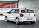 Фото авто Volkswagen Polo 5 поколение, ракурс: 135 цвет: белый