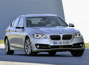 Фото авто BMW 5 серия F07/F10/F11 [рестайлинг], ракурс: 315 цвет: серебряный
