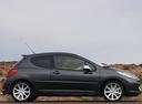 Фото авто Peugeot 207 1 поколение, ракурс: 270 цвет: мокрый асфальт