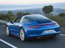 Фото авто Porsche 911 991, ракурс: 135 цвет: синий