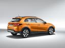 Фото авто Kia Rio 4 поколение, ракурс: 225 - рендер цвет: оранжевый