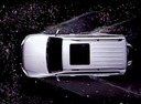 Фото авто Mitsubishi Pajero 4 поколение [2-й рестайлинг], ракурс: сверху цвет: серебряный