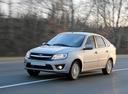 Фото авто ВАЗ (Lada) Granta 1 поколение, ракурс: 45 цвет: бежевый