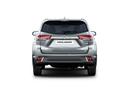 Фото авто Toyota Highlander 3 поколение [рестайлинг], ракурс: 180 цвет: серебряный