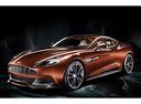 Фото авто Aston Martin Vanquish 2 поколение, ракурс: 45 - рендер цвет: оранжевый