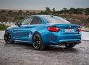 Фото авто BMW M2 F87, ракурс: 135 цвет: голубой