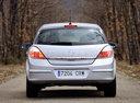 Фото авто Opel Astra H, ракурс: 180 цвет: серебряный