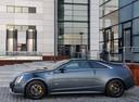 Фото авто Cadillac CTS 2 поколение, ракурс: 90 цвет: серый