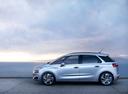 Фото авто Citroen C4 Picasso 2 поколение, ракурс: 90 цвет: серебряный