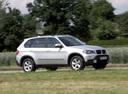 Фото авто BMW X5 E70, ракурс: 315 цвет: серебряный