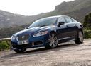 Фото авто Jaguar XF X250, ракурс: 45 цвет: синий