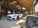 Фото авто Mercedes-Benz AMG GT C190 [рестайлинг], ракурс: 45 цвет: серебряный