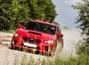 Фото авто Subaru Impreza 4 поколение, ракурс: 45 цвет: красный