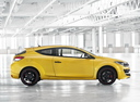 Фото авто Renault Megane 3 поколение [2-й рестайлинг], ракурс: 270 цвет: желтый