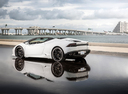 Фото авто Lamborghini Huracan 1 поколение, ракурс: 135 цвет: белый