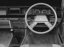 Фото авто Nissan Bluebird 910, ракурс: рулевое колесо