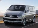 Фото авто Volkswagen Caravelle T6, ракурс: 45 цвет: серый