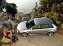 Фото авто Audi A3 8P/8PA [рестайлинг], ракурс: сверху цвет: серебряный