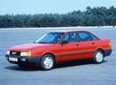 Фото авто Audi 80 8A/B3, ракурс: 45 цвет: красный