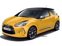 Фото авто Citroen DS3 1 поколение, ракурс: 45 цвет: желтый