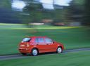 Фото авто Skoda Fabia 6Y, ракурс: 270 цвет: красный