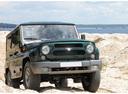 Фото авто УАЗ Hunter 1 поколение, ракурс: 315 цвет: синий