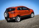Фото авто Ford EcoSport 2 поколение, ракурс: 225 цвет: оранжевый