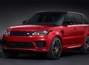 Фото авто Land Rover Range Rover Sport 2 поколение [рестайлинг], ракурс: 45 - рендер цвет: красный