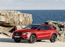 Фото авто Mercedes-Benz GLA-Класс X156 [рестайлинг], ракурс: 45 цвет: красный