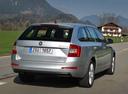 Фото авто Skoda Octavia 3 поколение, ракурс: 225 цвет: серебряный
