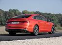 Фото авто Audi S5 F5, ракурс: 225 цвет: оранжевый