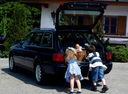 Фото авто Audi A6 A4/C4, ракурс: багажник
