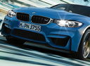 Фото авто BMW M3 F80, ракурс: передняя часть