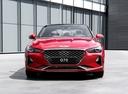 Фото авто Genesis G70 1 поколение,  цвет: красный