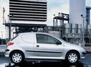 Фото авто Peugeot 206 1 поколение, ракурс: 270