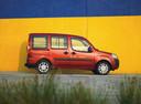 Фото авто Fiat Doblo 1 поколение [рестайлинг], ракурс: 270 цвет: оранжевый