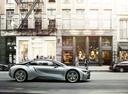 Фото авто BMW i8 I12, ракурс: 270 цвет: серебряный