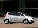 Фото авто Kia Venga 1 поколение, ракурс: 270 цвет: бежевый