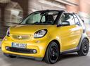 Фото авто Smart Fortwo 3 поколение, ракурс: 45 цвет: желтый