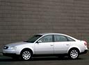 Фото авто Audi A6 4B/C5, ракурс: 90 цвет: серебряный